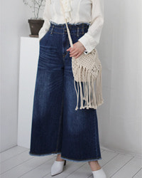 (pual ce cin)denim wide pants