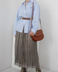 (fontanagrande)pleats skirt