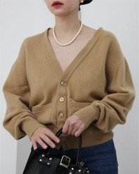 (bryant)cashmere knit cardigan