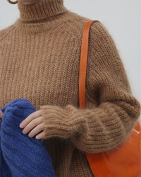 (Broccoli)wool sweater