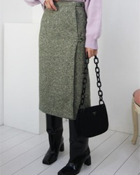 (juan)wool wrap skirt