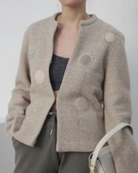 (ROYAL ASCOT)wool jacket